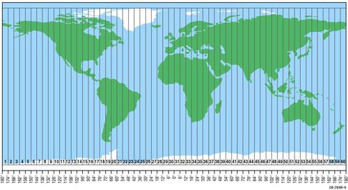 Commonly Used Map Projections | Intergovernmental Committee ...