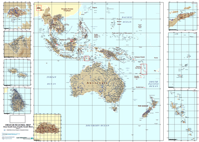 UNGEGN Map of Oceania
