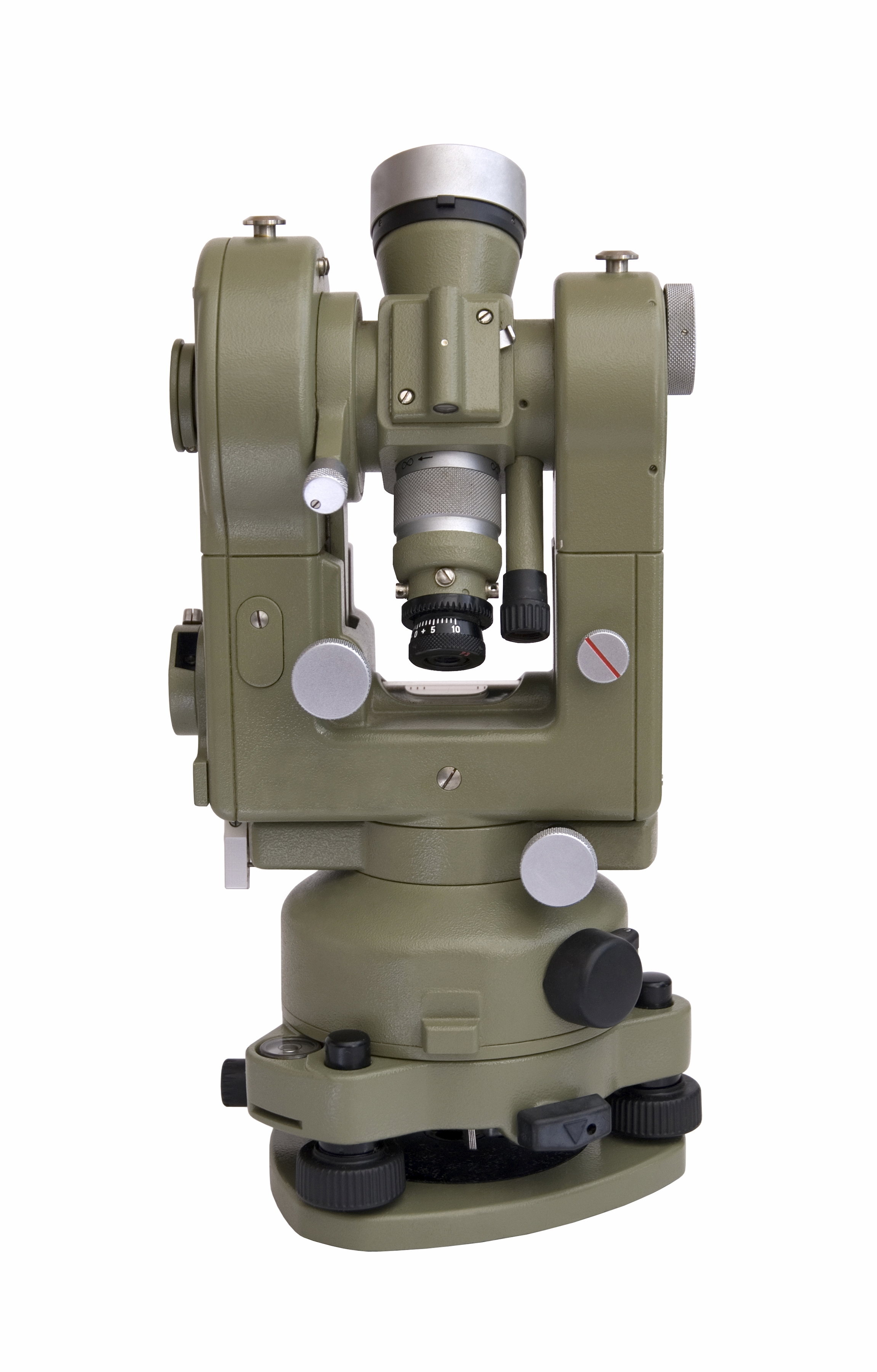 Image of a theodolite machine
