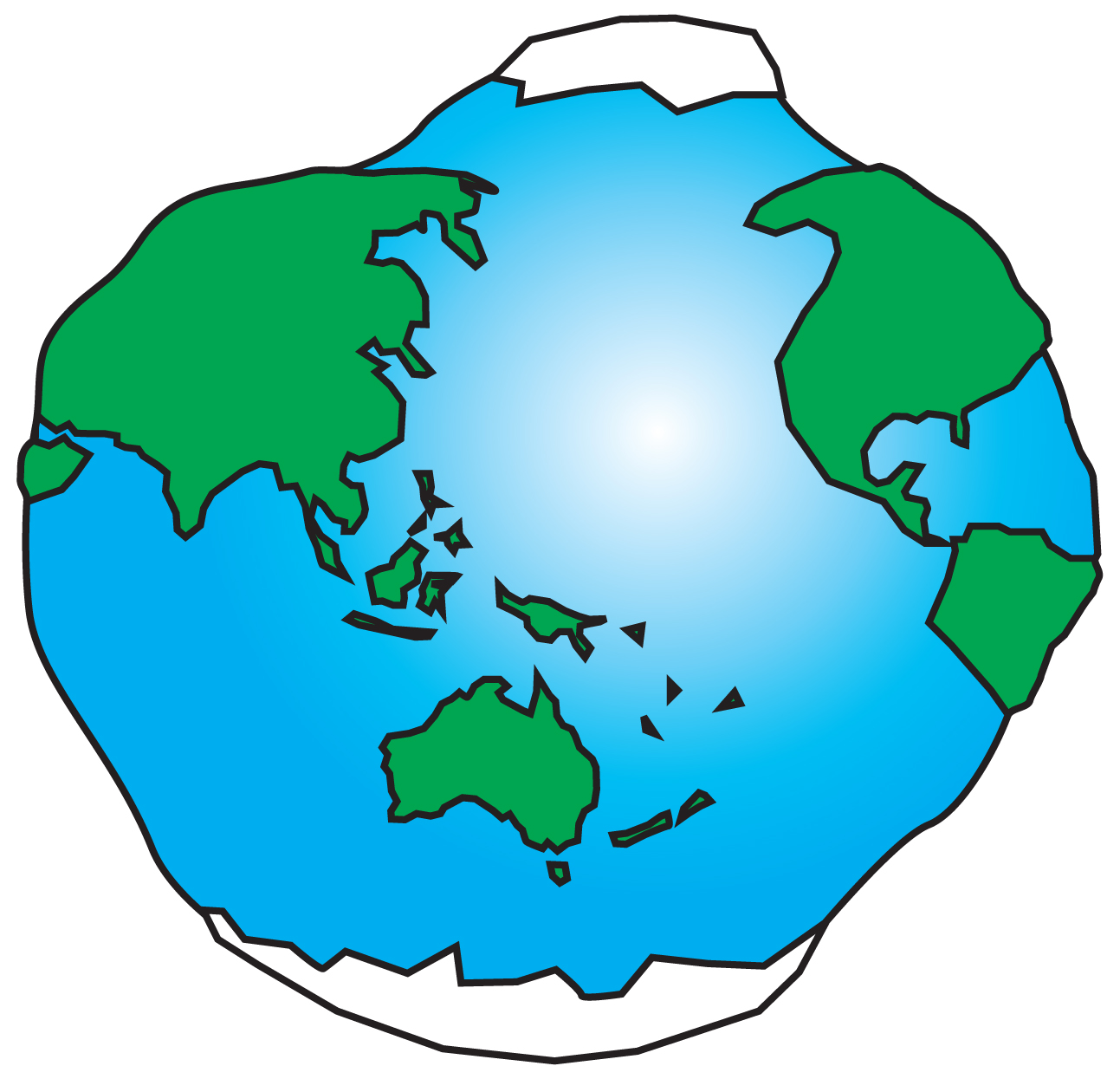 Simple globe picture